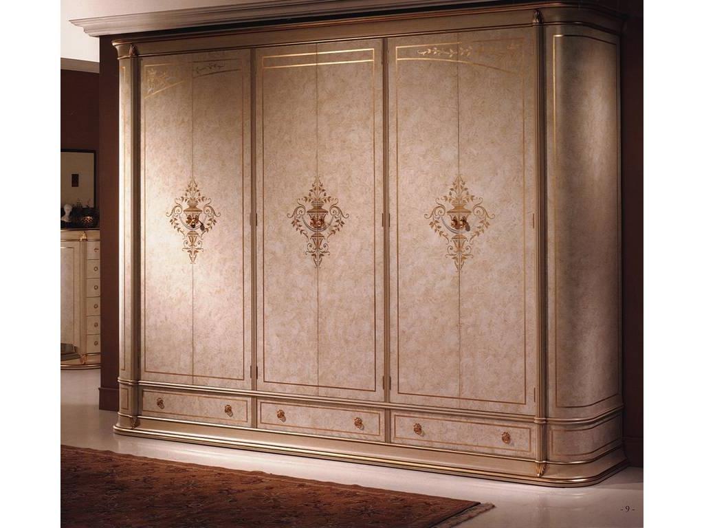 5108213 vicente zaragoza шкаф 6-ти дверный (слоновая кость, .