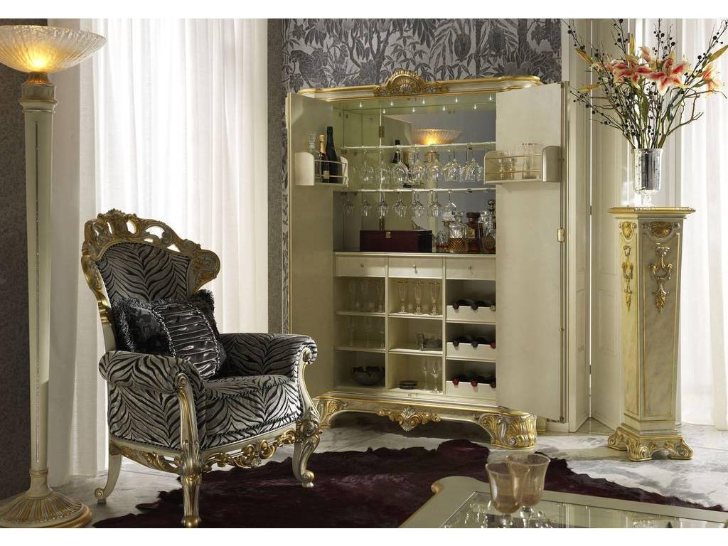 Белый Шкаф Бар Для Гостиной