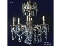 Arpe Luz-I: люстра  (черное серебро, хрусталь)