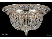 Catic Company: люстра потолочная 302/55 С (золото, серебро)