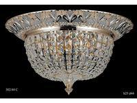 Catic Company: люстра потолочная 302/44 С (золото, серебро)
