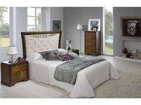 Lineas Taller кровать двуспальная 150х200 (орех) Keox