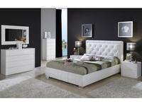 Dupen кровать двуспальная 160х200 (белый) Cinderella