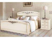 M. Villanova кровать двуспальная 180х200 изг. и изн (бежевый) Aurora