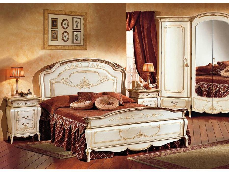 F.lli Pistolesi кровать двуспальная 167х198 (laccato fiorentino) Изабель