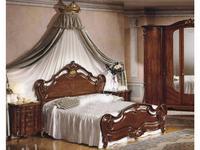 F.lli Pistolesi кровать двуспальная 162х198 (орех) Барокко
