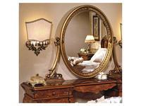 F.lli Pistolesi зеркало настенное к туалетному столу (золото) Изабель