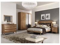 F.lli Pistolesi спальня барокко комната (canaletto naturale) Cloe
