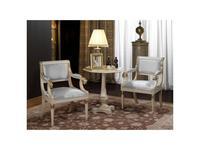 Vicente Zaragoza кресло  (белый, золото) Калифорния