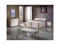 Proforma Diseno кровать односпальная 135х200 без р/м (черешня, каштан состаренный) Madrid