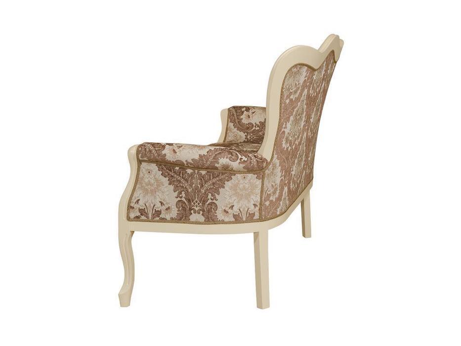 Оримэкс диванчик  (орех, ткань) Версаль