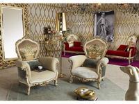 Morello Gianpaolo кресло  (ткань) Paradise