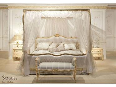 Мебель для спальни фабрики Angelo Cappellini на заказ