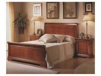 Monrabal Chirivella кровать двуспальная 180х200 (черешня) Дезири