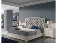 Monrabal Chirivella кровать двуспальная 160х200 (белый дуб) Titanic