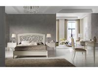 Monrabal Chirivella кровать двуспальная Toscana 160х200 (белый) Valeria