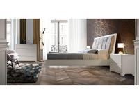 Monrabal Chirivella кровать двуспальная 160х200 (белый) Valentina