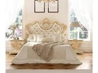 Grilli кровать двуспальная 180х200 (слоновая кость, золото) Империале