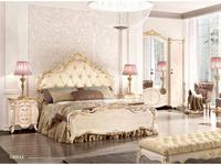 Grilli кровать двуспальная 180х205 (слоновая кость, золото) Doge
