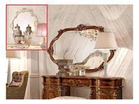 Grilli зеркало навесное для туалетного стола (слоновая кость, золото) Doge