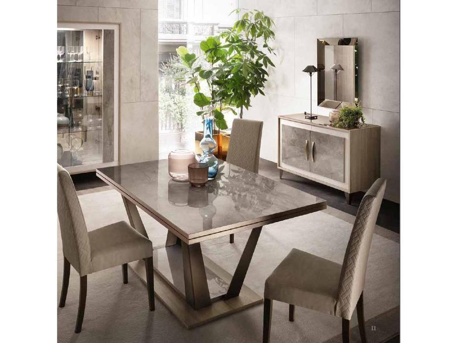 Arredo Classic стол обеденный 160 (вяз светлый) Ambra