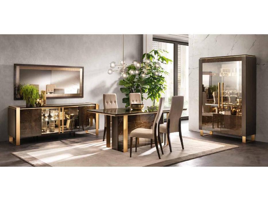 Arredo Classic гостиная классика  (венге, коричневый, золото) Essenza
