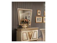 Arredo Classic зеркало навесное  (слоновая кость, золото) Fantasia