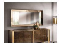 Arredo Classic зеркало настенное арт.31 (венге, коричневый, золото) Essenza