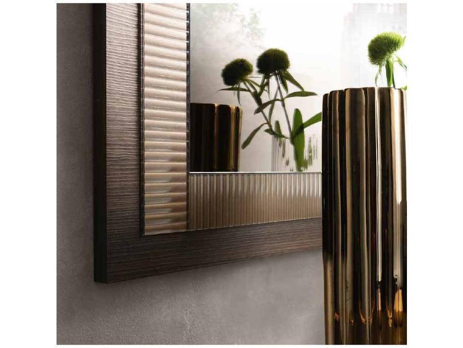 Arredo Classic зеркало настенное малое (венге, коричневый, золото) Essenza