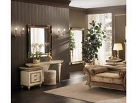 Arredo Classic стол туалетный  (кремовый мраморный) Fantasia