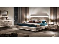 Arredo Classic кровать двуспальная 180х200 (вяз светлый) Ambra