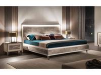 Arredo Classic кровать двуспальная 160х200 (вяз светлый) Ambra