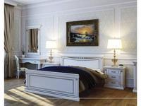 Liberty кровать 180х200 (слоновая кость, золото) Флоренция