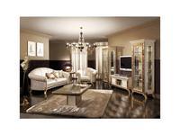 Arredo Classic диван 3-х местный ткань кат. А (бежевый) Раффаэлло