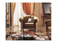 Arredo Classic кресло Джотто ткань кат. B (орех) Giotto