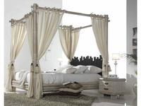 Joenfa кровать двуспальная 160х200 с балдахином (bamboo sww) Cabana