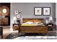 Joenfa кровать двуспальная 180х200 (teak) Calvin