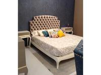 La Ebanisteria кровать двуспальная Moonshine 160х200 (crema, ткань London) Nite Nite