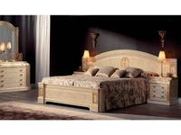 Vicente Zaragoza кровать двуспальная 180х200 (лак, золото) Вена