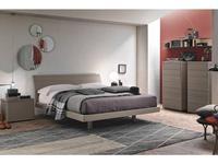 Tomasella кровать двуспальная 180х200 Клио (frassino cenere) Clio