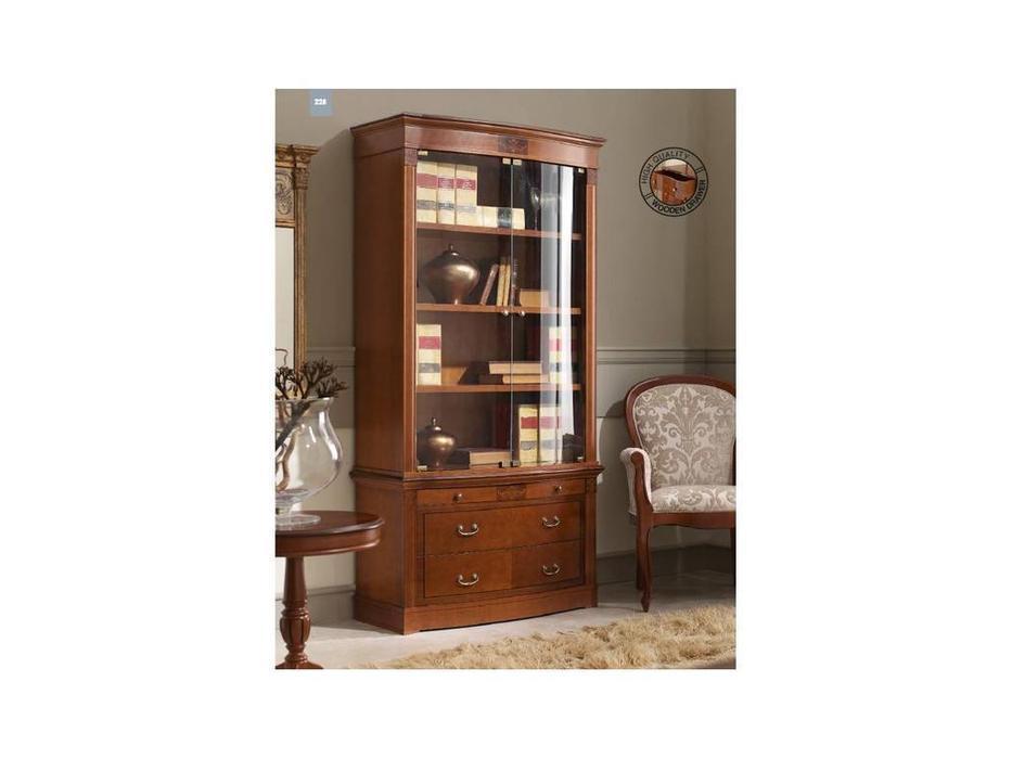 Мебель для кабинета panamar книжный шкаф 825.001 + 835.000 7.