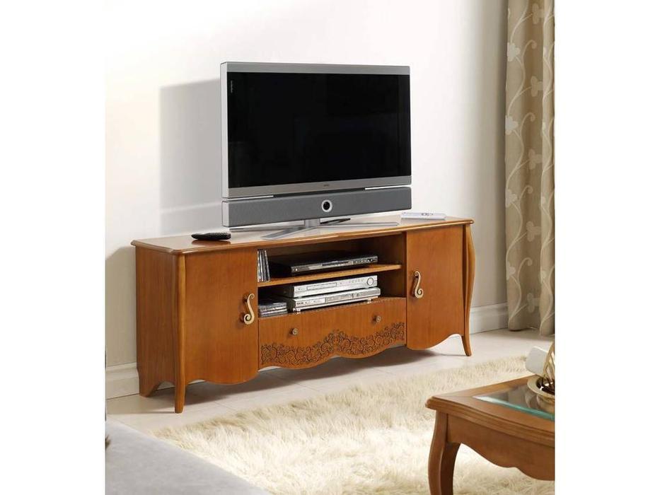 Panamar тумба под телевизор  (черешня) Classic