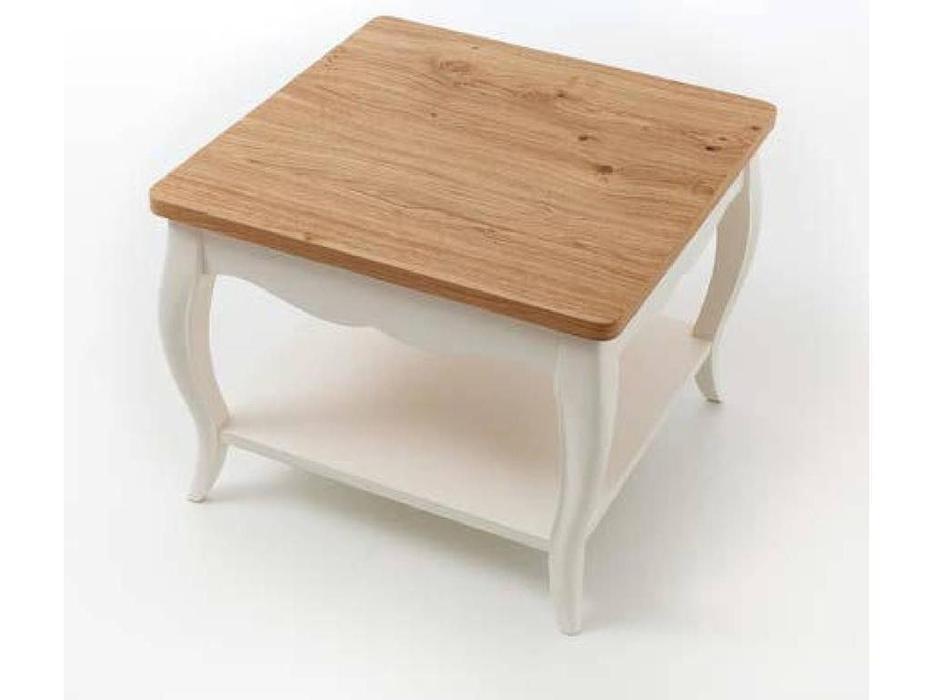 Panamar стол журнальный  (белый, дуб) Classic