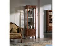 Panamar витрина 2-х дверная  (орех) Classic