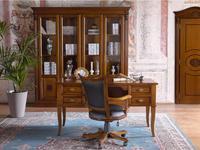 Claudio Saoncella стол письменный с 4ящ (вишня) Puccini