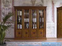 Claudio Saoncella библиотека 4х дв. (вишня) Puccini