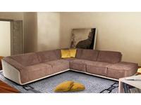 Nieri диван угловой  (ткань, новабук) Dominique