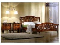 Zilio кровать двуспальная 160х200 Джоконда (орех) Gioconda