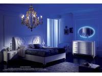 MobilPiu спальня классика №2 с подсветкой (белый) Gioia