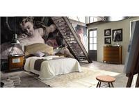 Grupo Seys кровать двуспальная 160х200 Bristol (белый декапе) Volga
